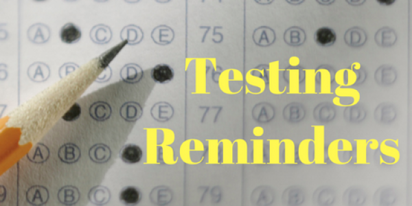 Testing Reminders 2021
