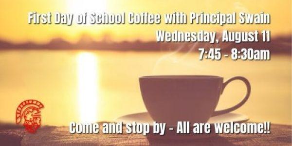 Coffee with Principal Swain